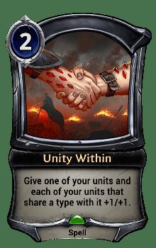 Unity Within