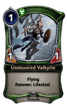 Unmoored Valkyrie