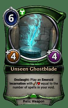 Unseen Ghostblade
