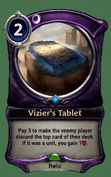 Vizier's Tablet