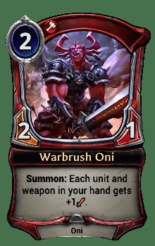 Warbrush Oni