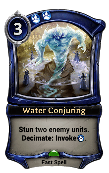 Water Conjuring
