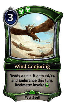 Wind Conjuring