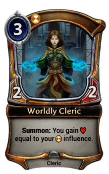 Worldly Cleric