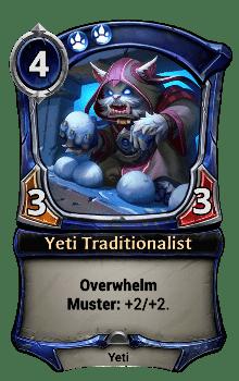 Yeti Traditionalist