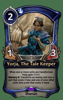 Yorja, The Tale Keeper
