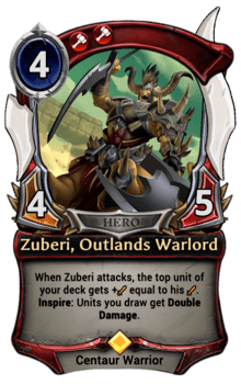 Zuberi, Outlands Warlord